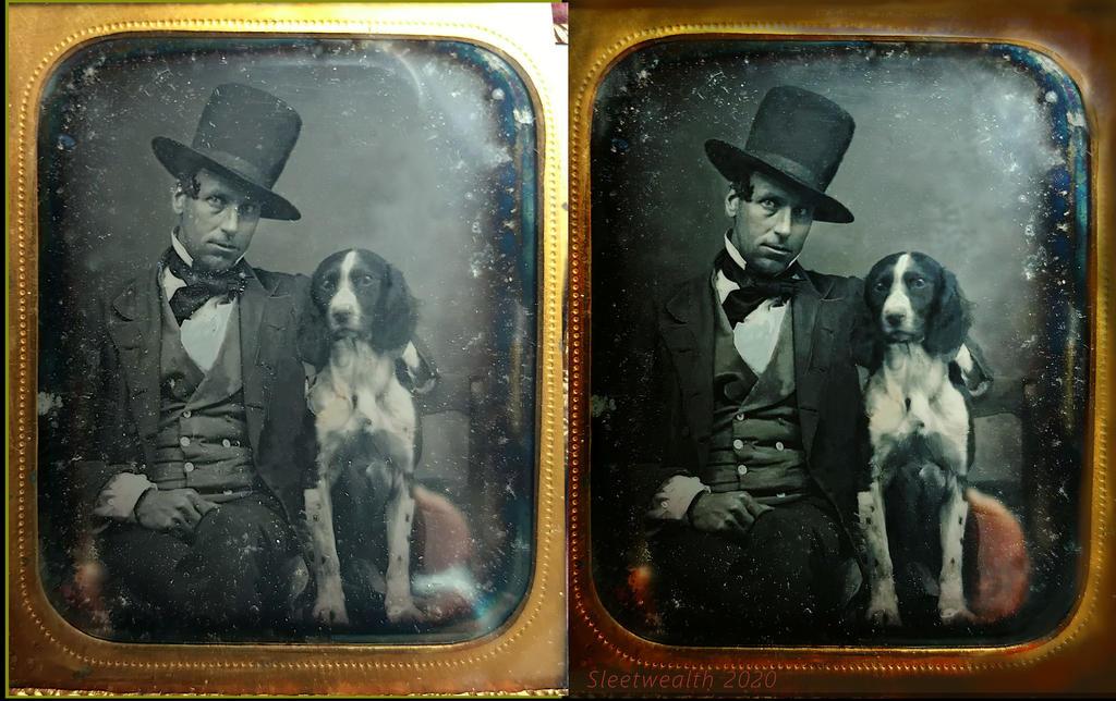 Gentleman And his Human