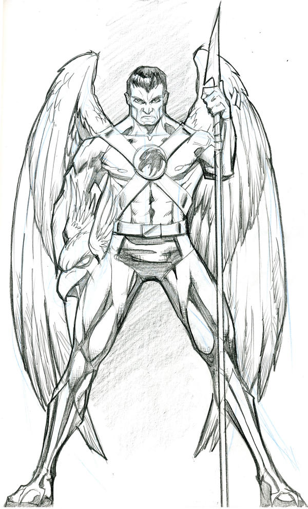 hawk guy coloring pages - photo#22