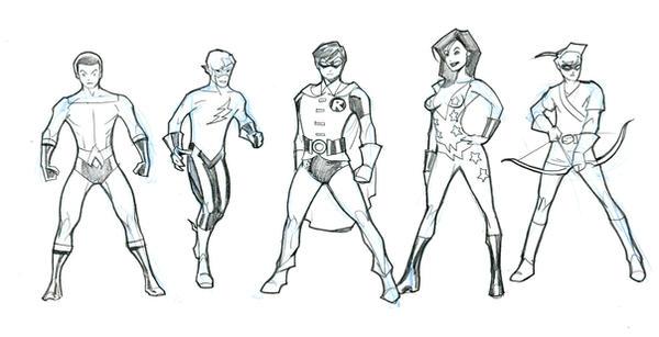 5 OG Teen Titans 0509 by guinnessyde