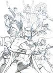 Justice League 2010 sketch