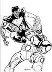 Cyborg vs Cyborg Superman