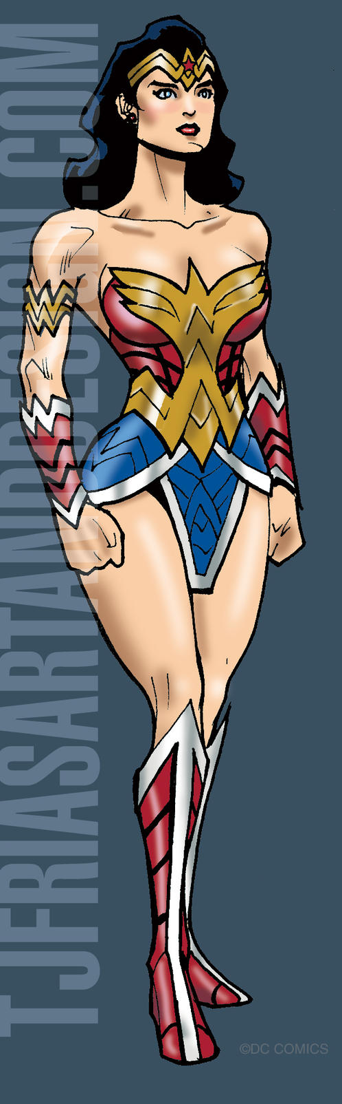 Wonder Woman Redesign by guinnessyde