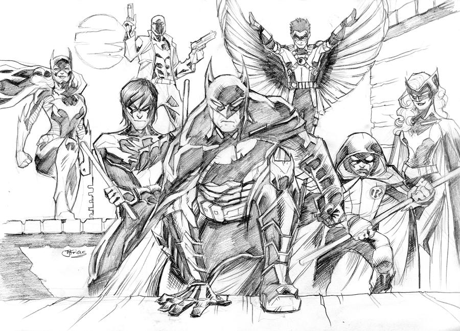 DCNU Batman Family Redux by guinnessyde
