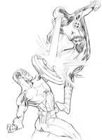 AvX: Cap vs. Cyclops 04252012 by guinnessyde