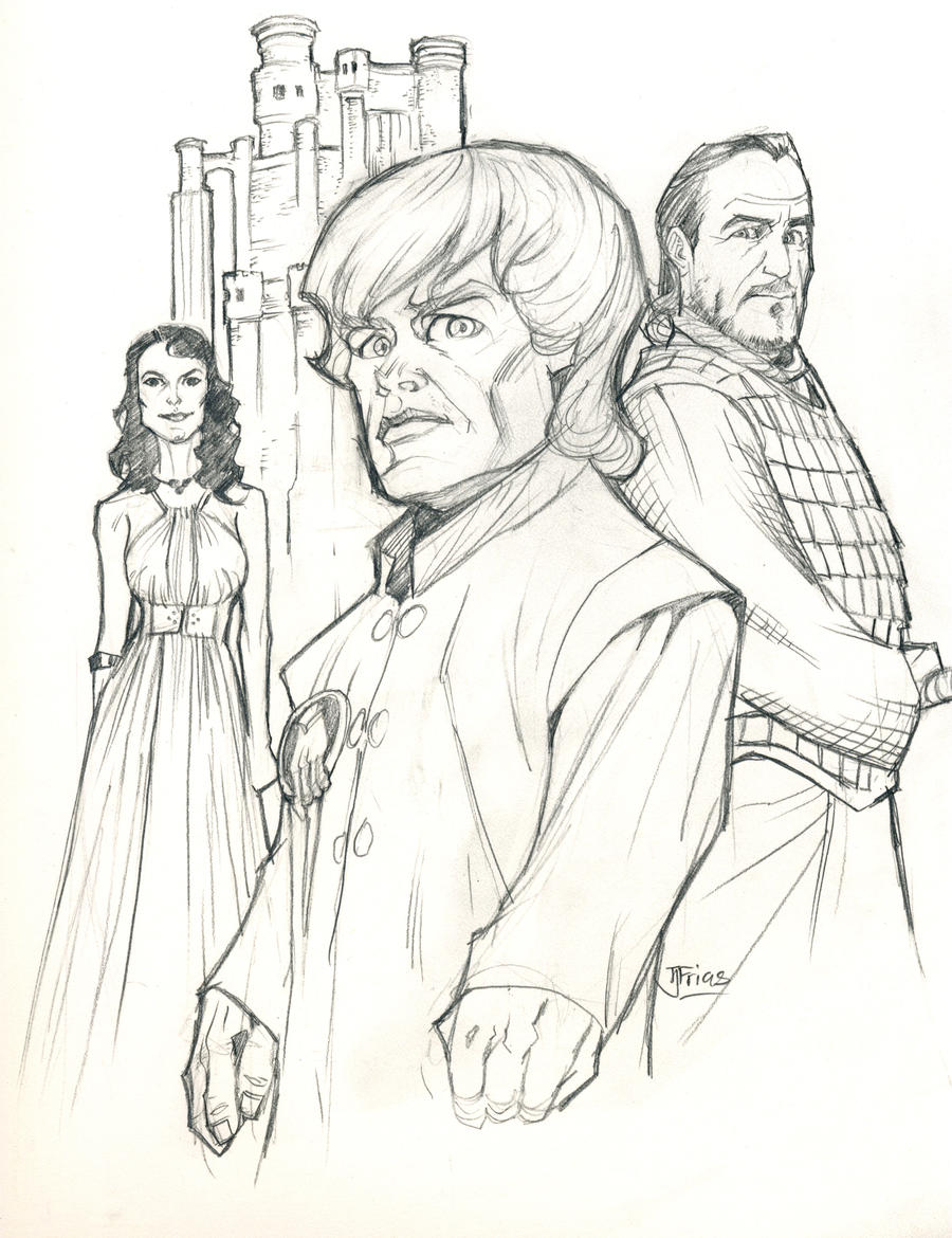 Tyrion Lannister, Hand of the King by guinnessyde