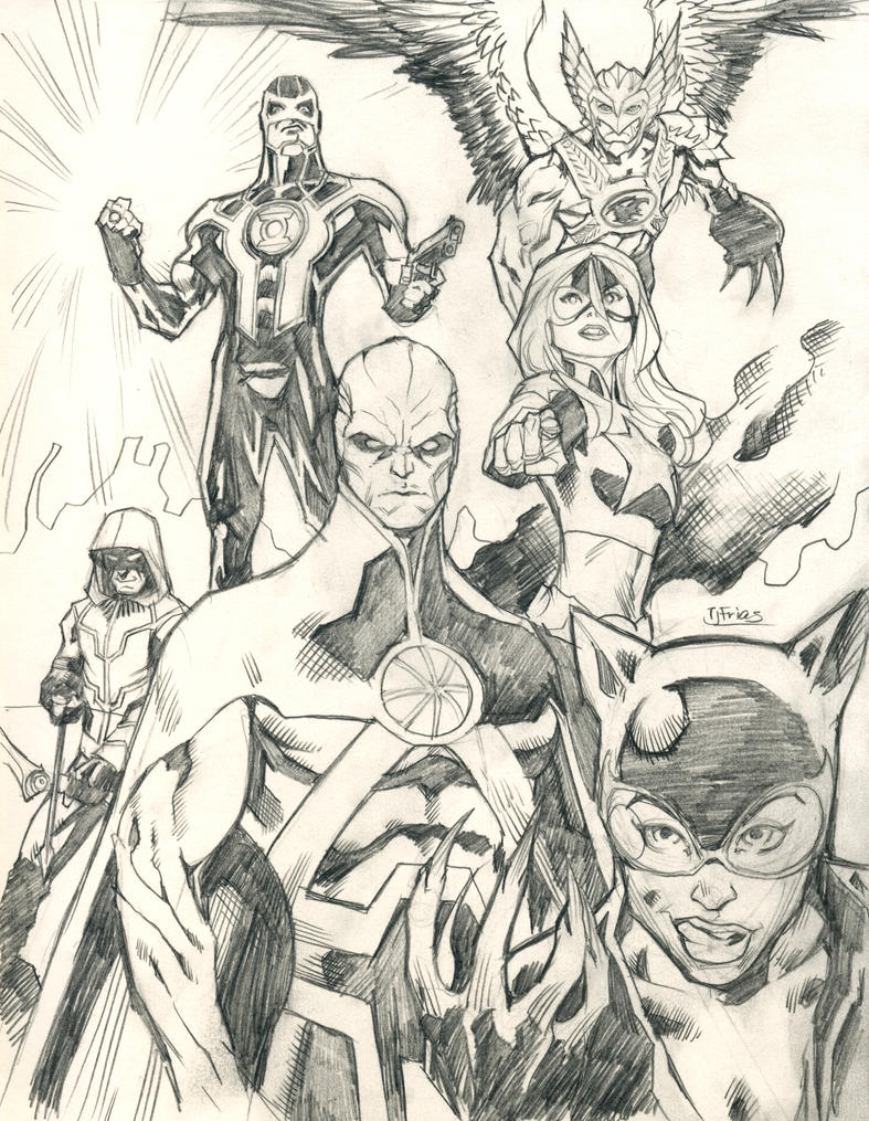 New 52 Justice League Of America By Guinnessyde