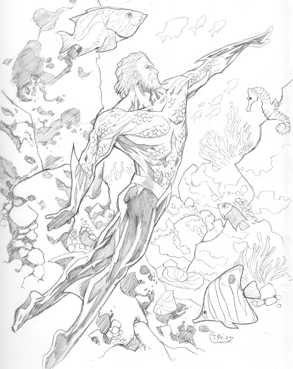 03062014 Aquaman By Guinnessyde On DeviantART
