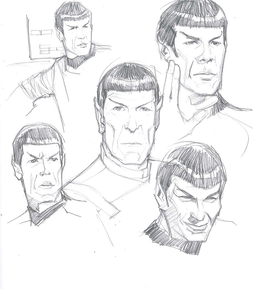 03012015 Spock Faces by guinnessyde