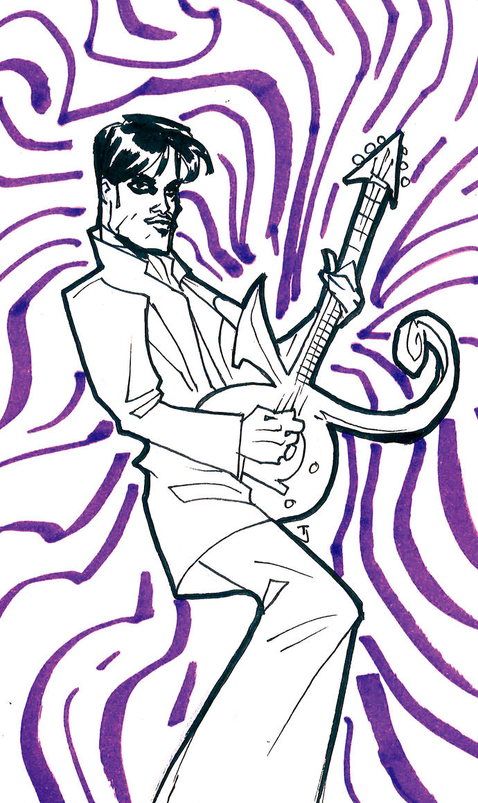 04282016 Prince Guitar by guinnessyde