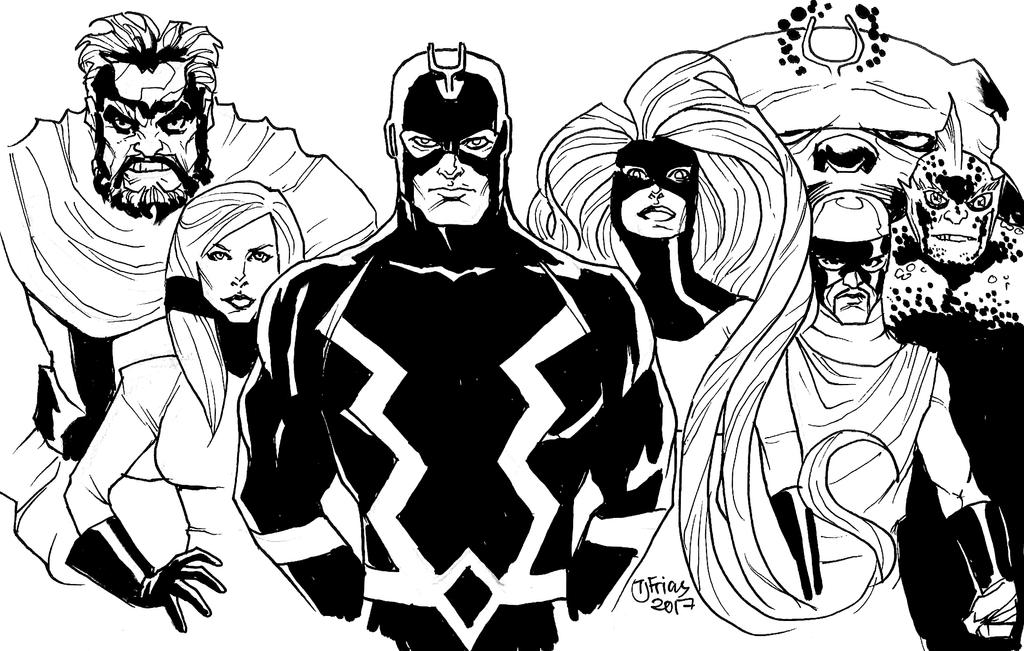 05112017 Inhumans By Guinnessyde
