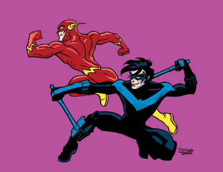 03062020 Flash Nightwing Color