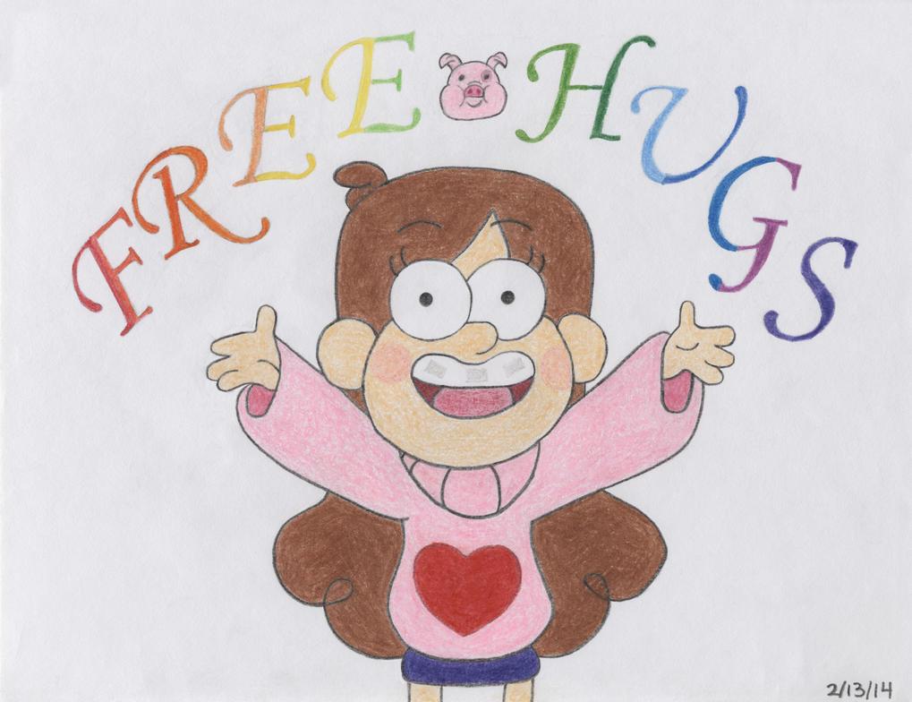 Gravity Falls Mabel: Free Hugs by SN2