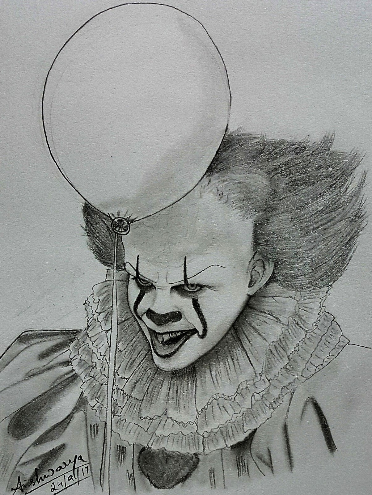 Pennywise - IT (2017) by Maya-Winchester on DeviantArt