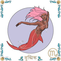 Zodiac - (08) Scorpio by empyrean