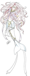 Fancy mermaid by empyrean