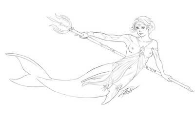 2457010 Mermaid by empyrean