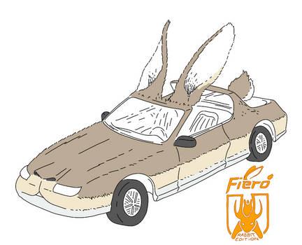2457972 Rabbit Car