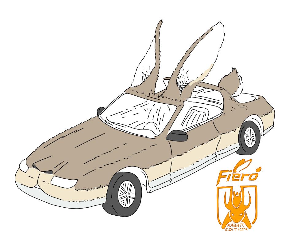 2457972 Rabbit Car by empyrean