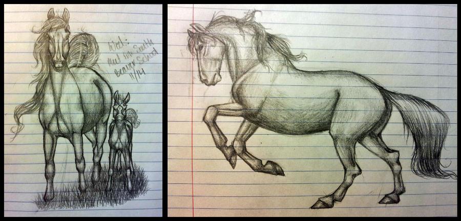 .:Class Doodles:. by PeaBlueJr