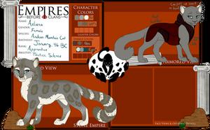 Aeliana the Silent - Stone Empire - RETIRED by Wildfire-Tama