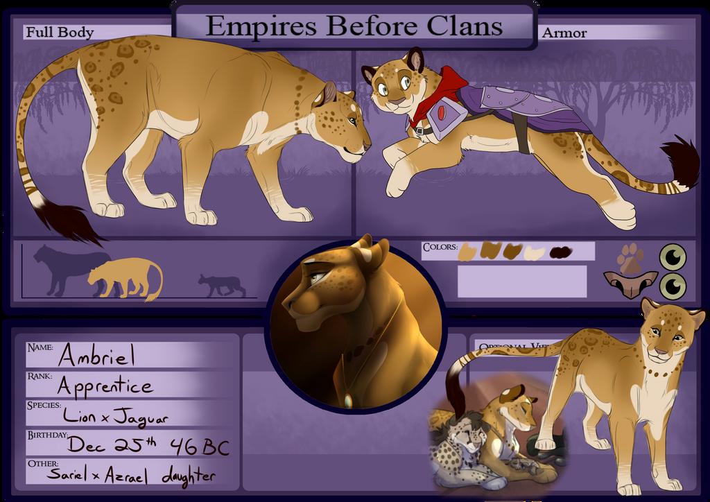 Ambriel - Shadow Empire Gladiator by Wildfire-Tama