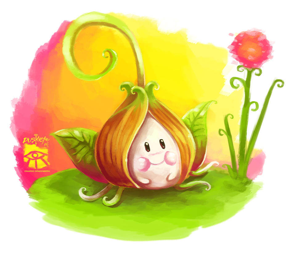 Cute Onion by Spangemberg