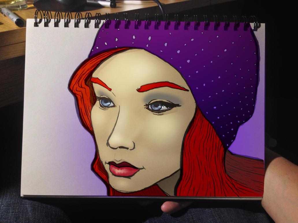 Girl 425 by ChrisIwanski