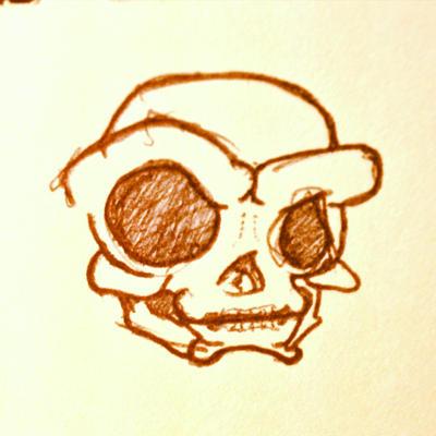 Skull Kid by ChrisIwanski