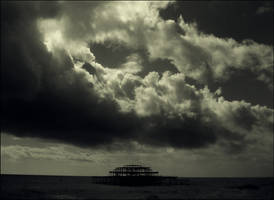 Pier under the weather by Pete-B