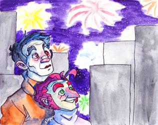 Fireworks by Steggmatt