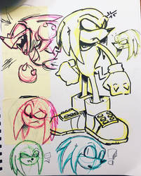 Knux Sketches