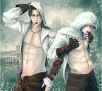 Ezio and Altair: Yogurt night