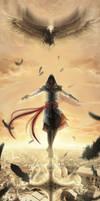 ..Ezio:Into the sky:... by DeadlyNinja
