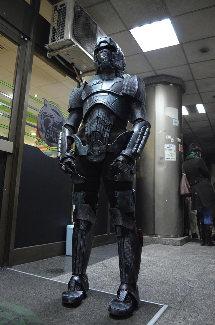 mass effect 3 n7 armor template - commander shepard by deadlyninja on deviantart