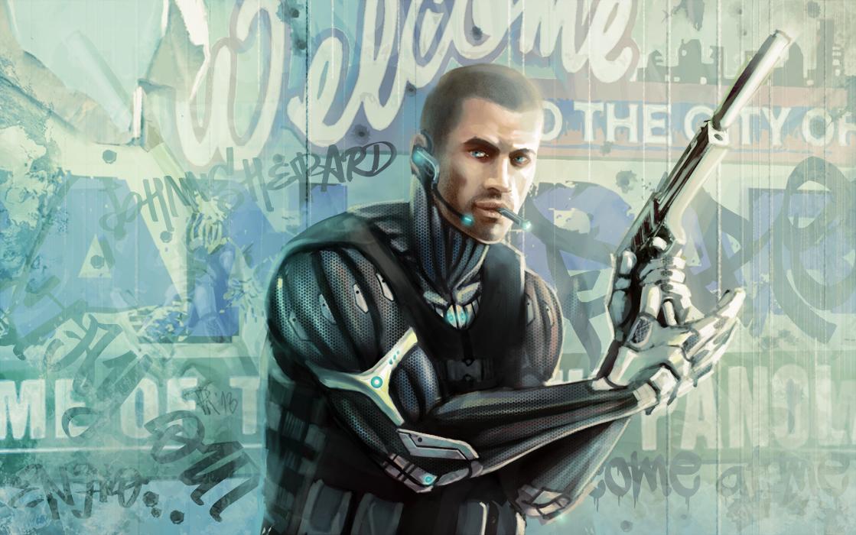 APB:R Shepard by DeadlyNinja