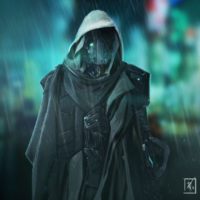 Blue Rain by DeadlyNinja