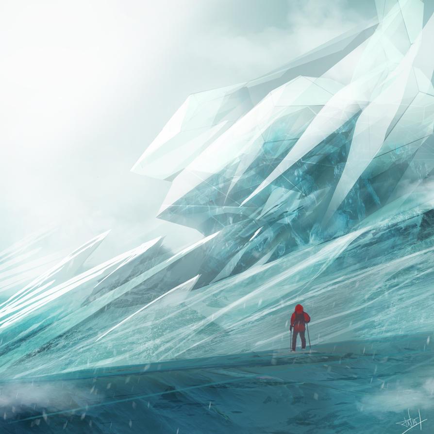 Beneath the ice by DeadlyNinja