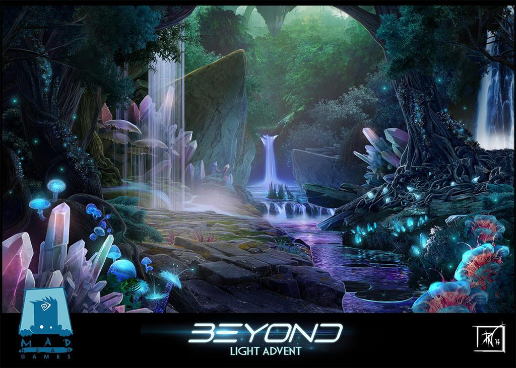 Crystal Waterfalls by DeadlyNinja