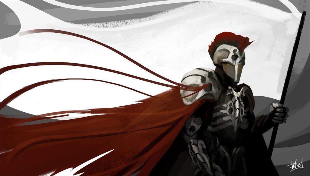 Skeleton warrior by DeadlyNinja