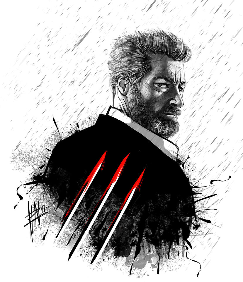 Old Man Logan by DeadlyNinja