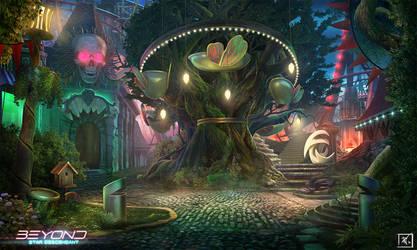 Beyond : Star Descendant  - Carousel tree by DeadlyNinja