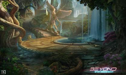 Beyond :Star Descendant  - Park of the enchantress by DeadlyNinja