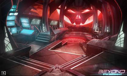 Beyond : Star Descendant  - Pirate ship deck by DeadlyNinja