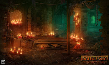 Donna Brave : Catacombs by DeadlyNinja