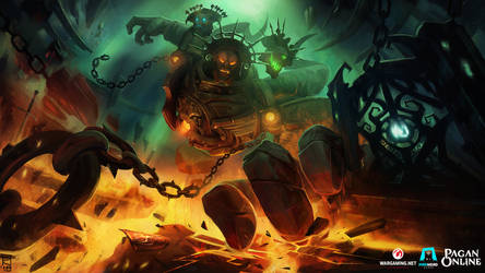 Pagan online : Splash art - Triglav