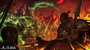 Pagan online : Splash art - Battlefield