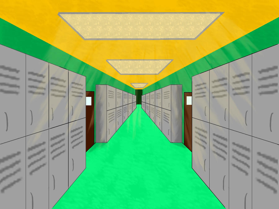 Hallway Background by Yuuri1020