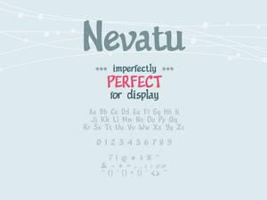 Nevatu Font