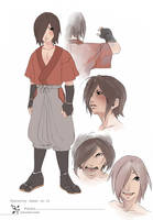 +Character sheet no.01 Fubuki+ by korone