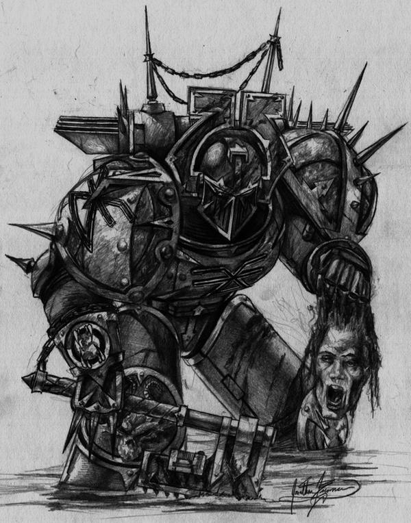 Khorne Berserker by tacticangel on DeviantArt